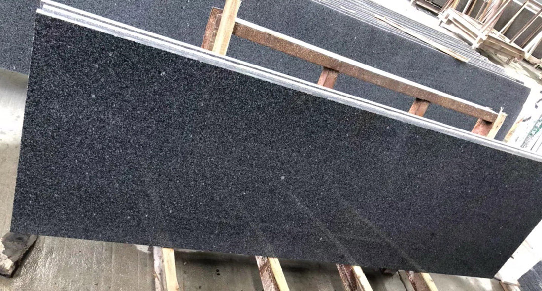 New Granite G654 Slab Chinese Polished Black Granite Stone Slabs
