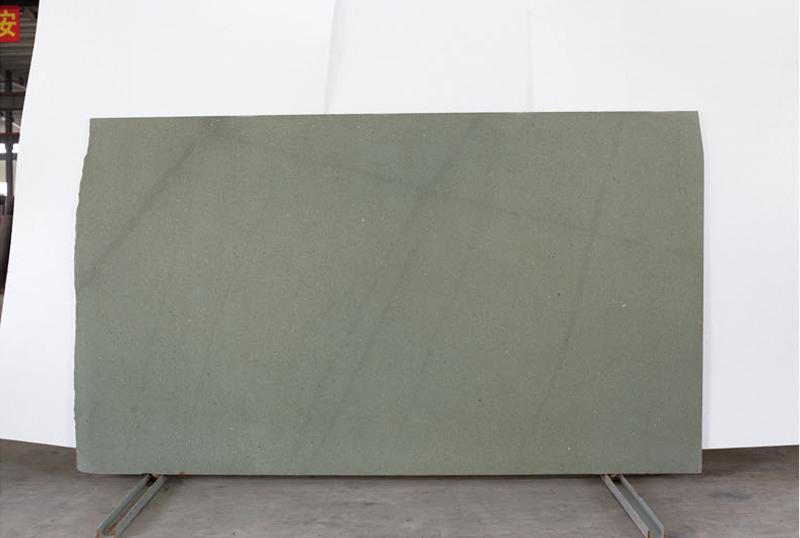 New Green Sandstone Slabs Honed Green Sandstone Slabs