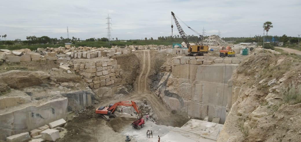 New Kashmeer White Block Competitive Granite Blocks