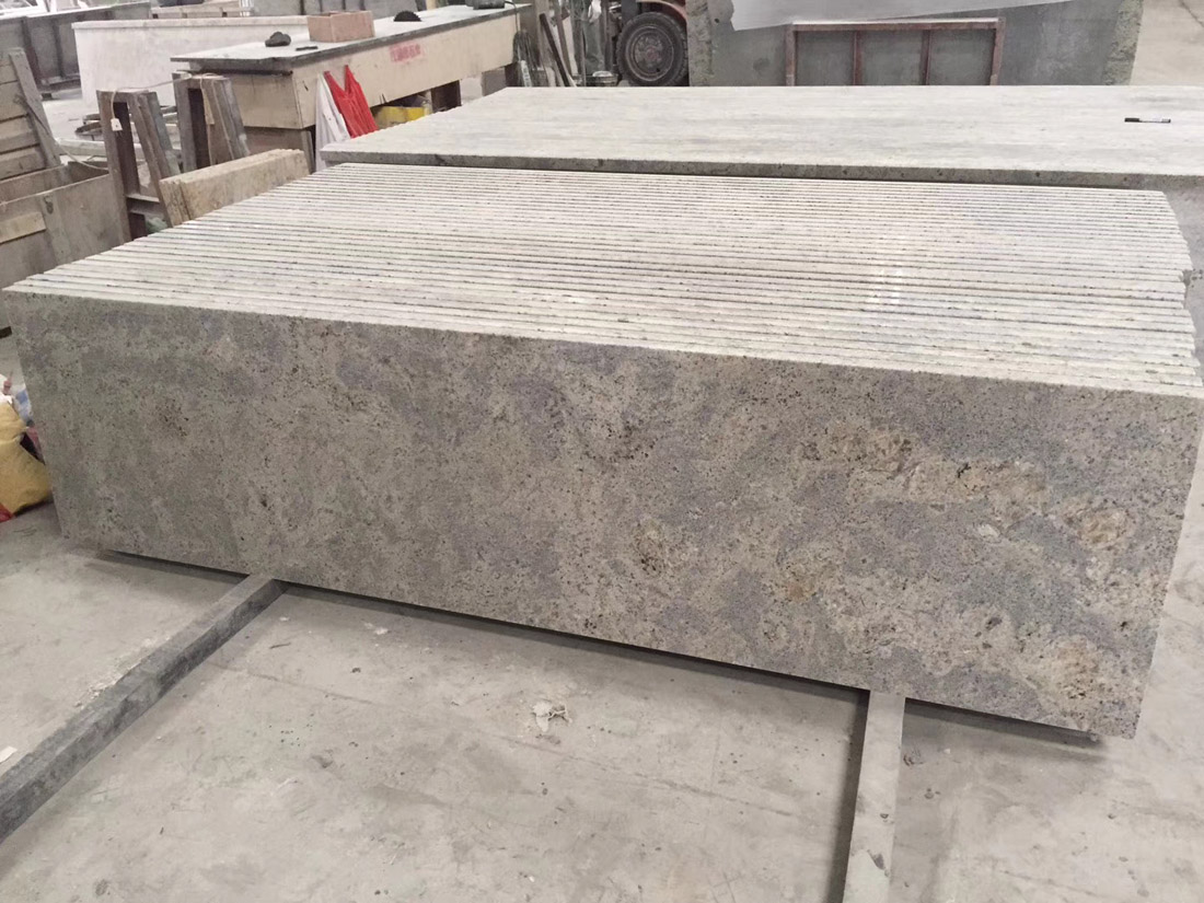 New Kashmir Bahia Imperial White Granite Slabs