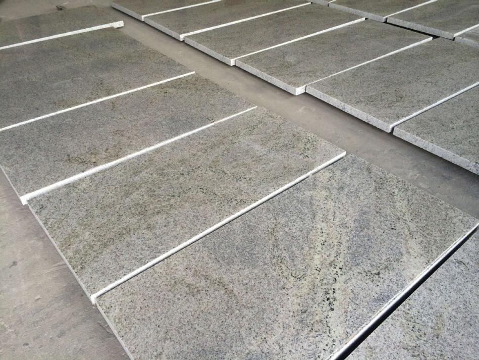 New Kashmir White Tile Polished White Granite Tiles