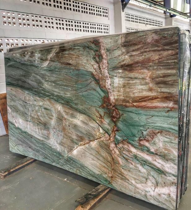 New Louise Blue Quartzite Polished Slabs