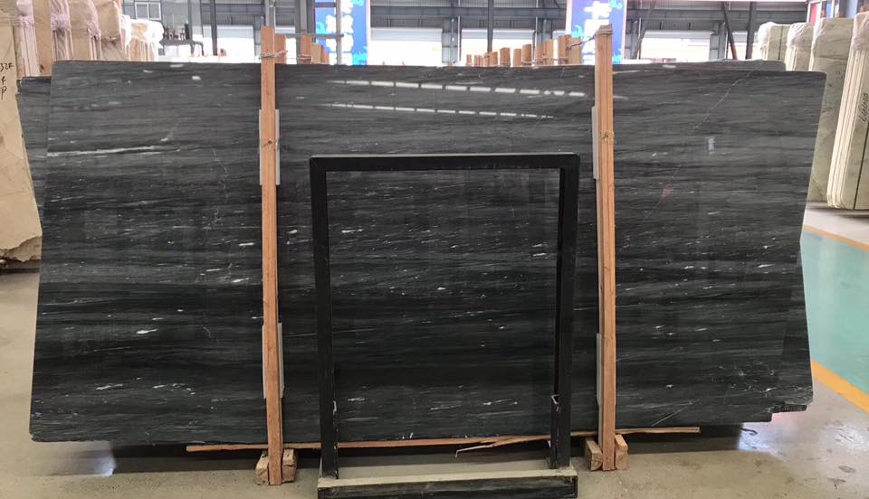 New Palissandro Blue Marble Slabs from Chinese Supplier