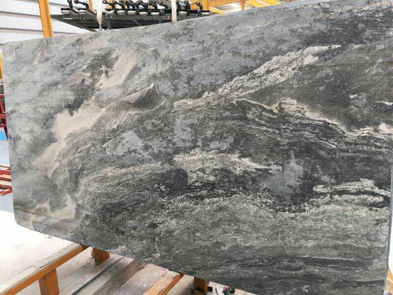 New Polishing Fantasy Grey Marble Slab
