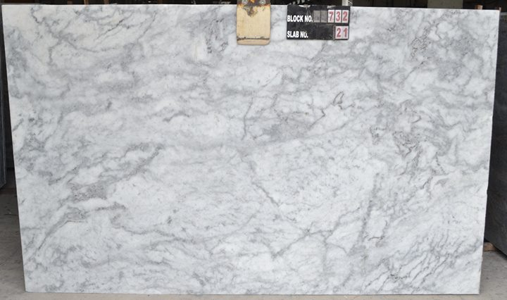 New River White Marble Slabs 3cm