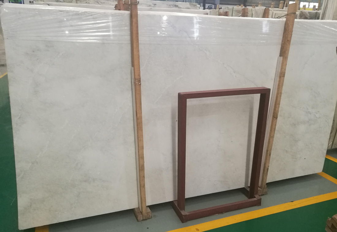 New Snow White Marble Slabs Polished Marble Slabs from Chinese Supplier
