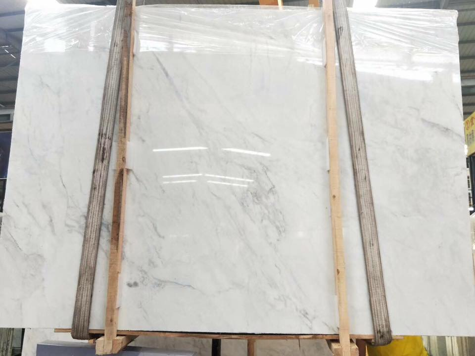 New Volakas White Marble Slabs Polished Slabs from Chinese Supplier