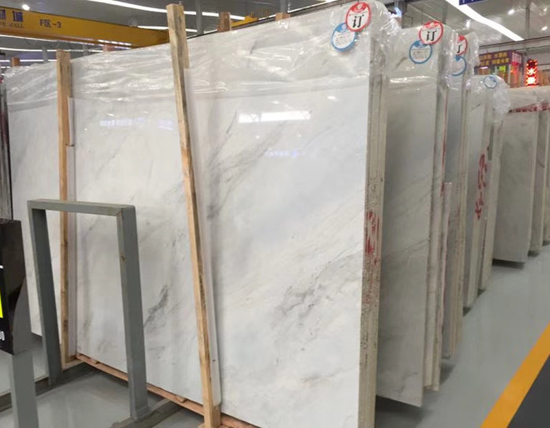New Volakas White Marble Top Quality White Marble Slabs