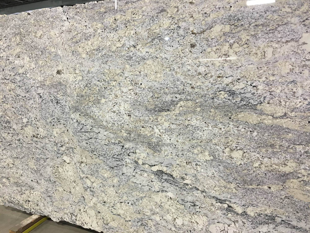 New White Springs Granite Slab White Granite Slabs