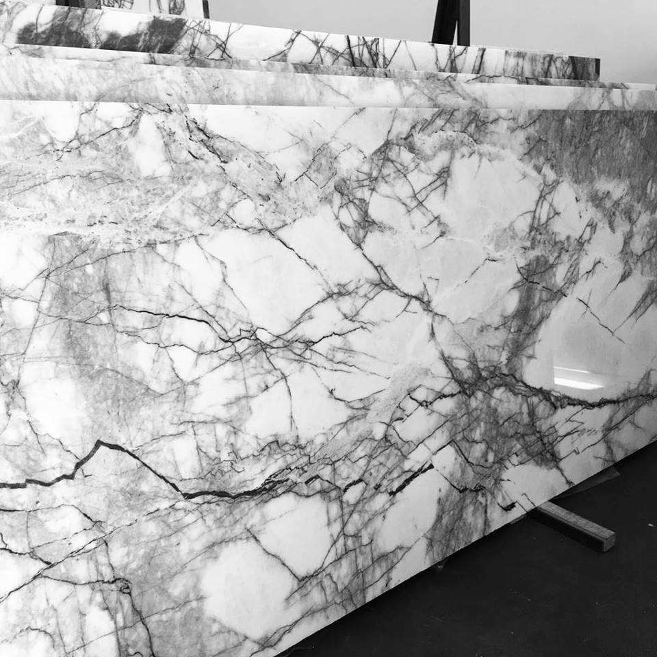 New York Marble Slabs Turkish Polished White Marble Slabs