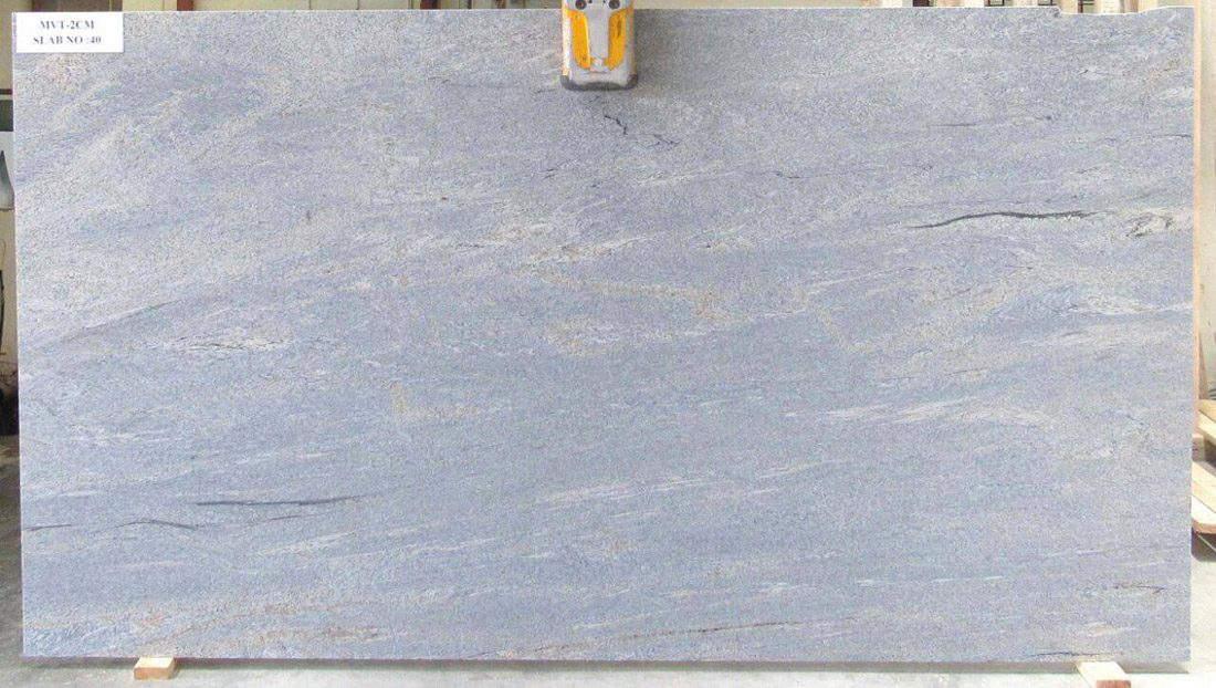 Nice Ivory Blue Granite Slabs from India