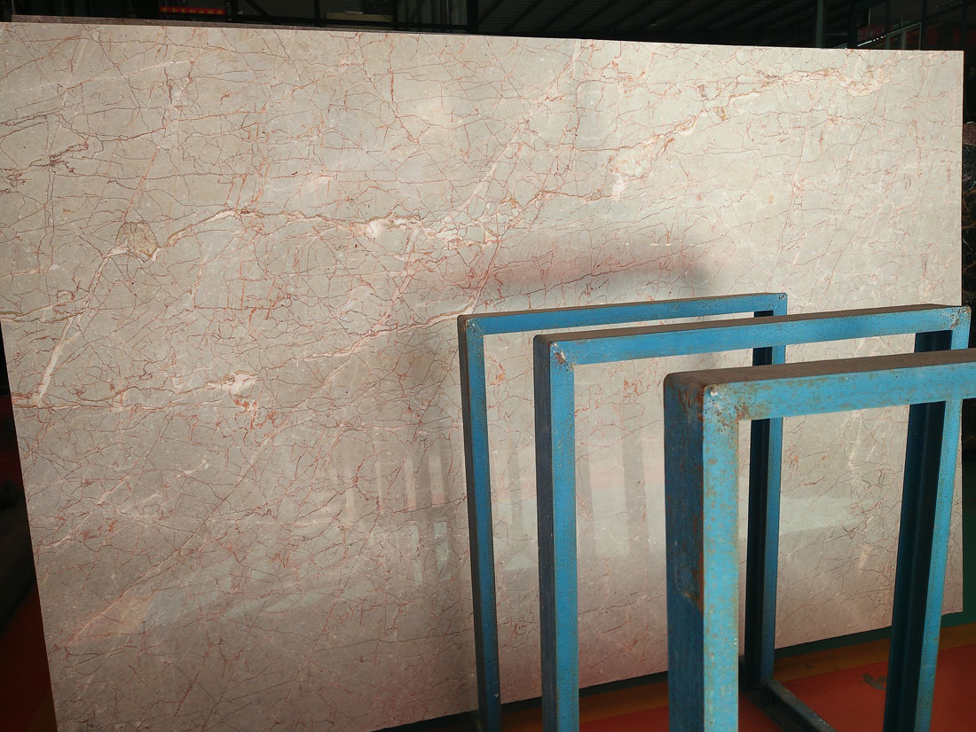 Nice Rojo Alcante Marble Slabs Polished Pink Marble Slabs