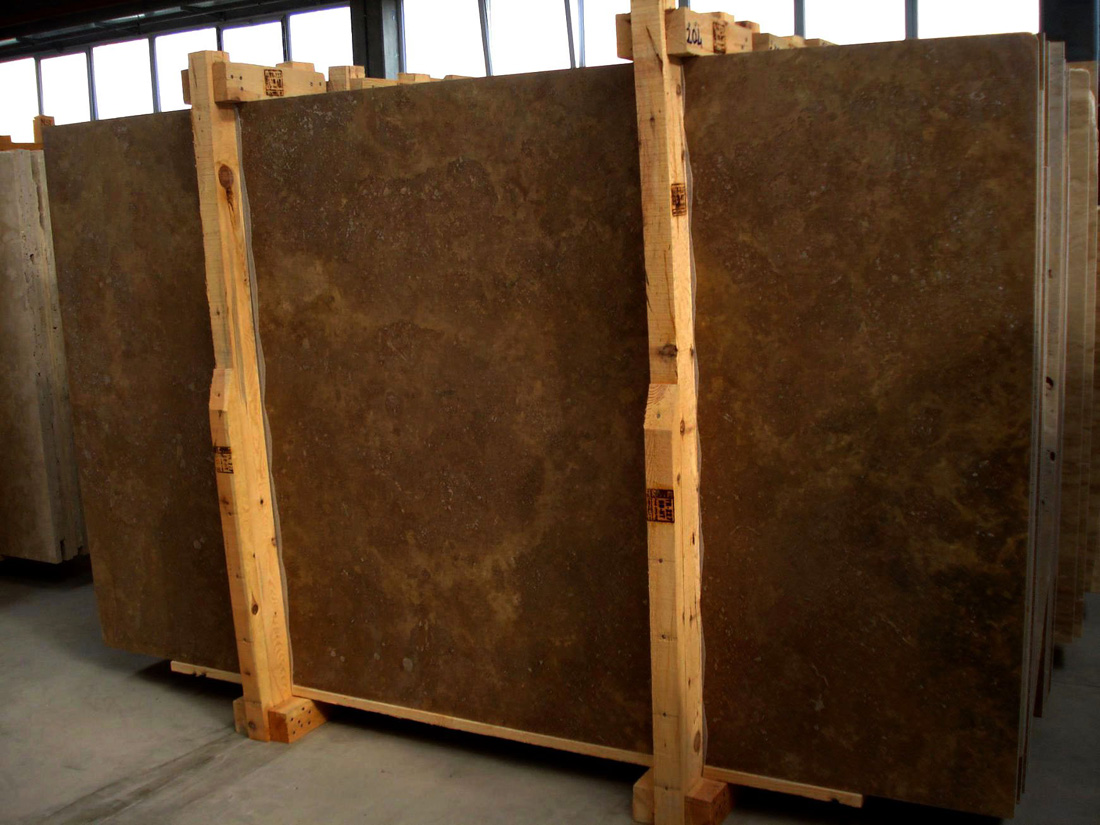 Noce Travertine Slabs Brown Travertine Stone Slabs