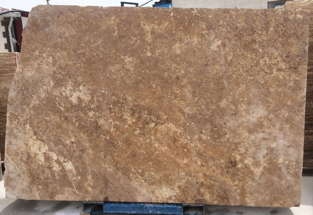 Noce Travertine Slabs Brown Turkish Travertine Stone Slabs