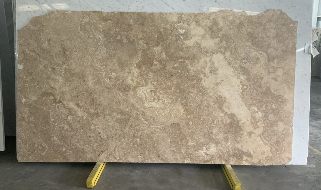 Noche Travertine Slabs Honed Brown Travertine Slabs