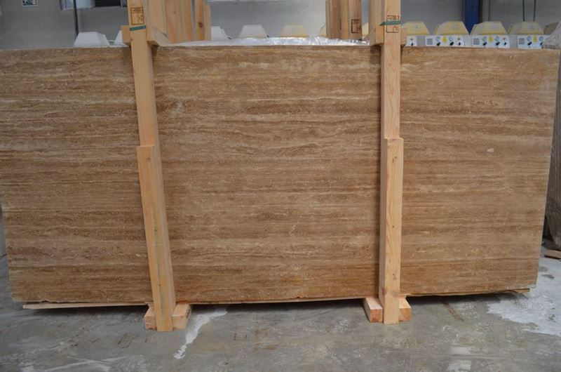 Noche Veincut Slabs Brown Travertine Stone Slabs