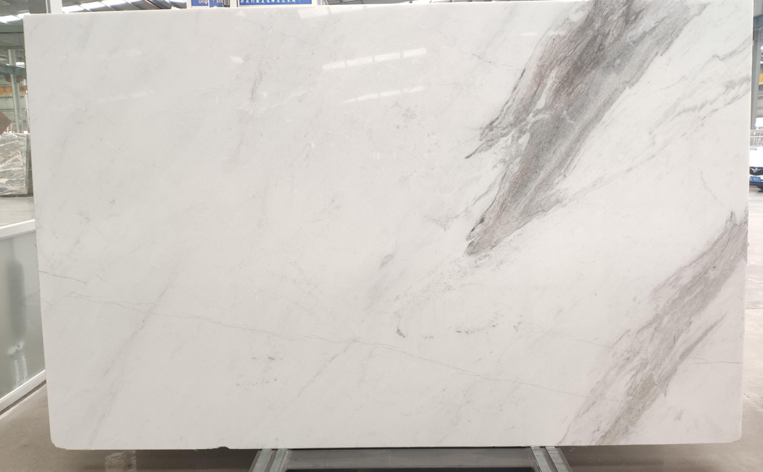 North Pearl Natural Marble Slabs Polished White Marble Slabs