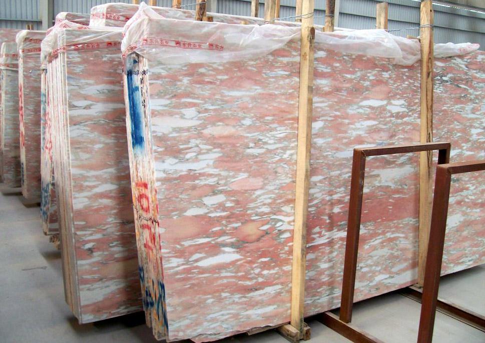 Norwegian Rose Marble Slabs Pink Marble Stone Slabs