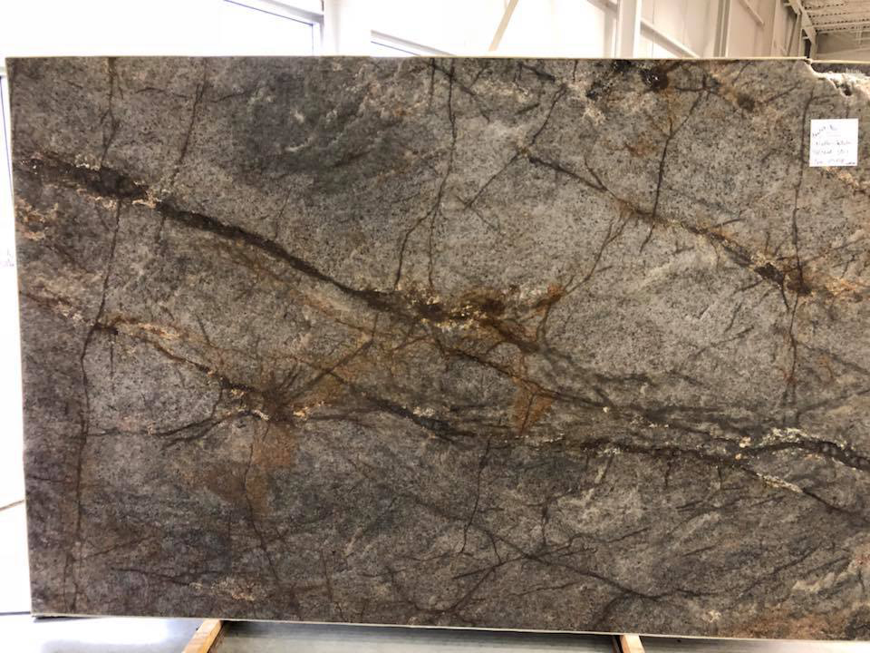 Notte Stellata Quartzite Polished Brown Quartzite Slabs