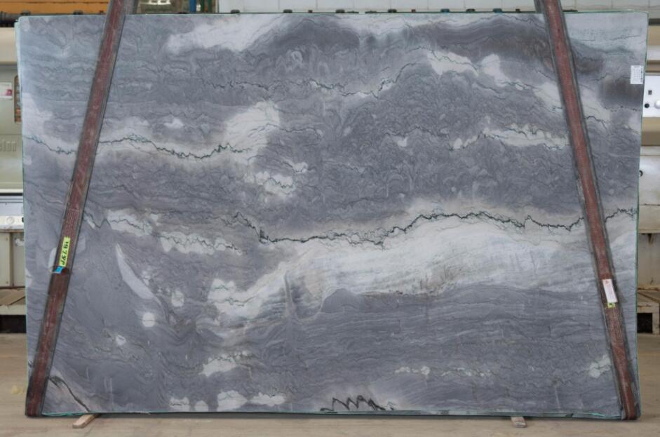 Nuvola Blue Quartzite Stone Slabs for Kitchen Countertops