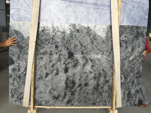 OCEAN BLUE GREY Marble in Blocks Slabs Tiles