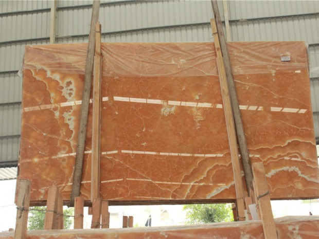 ORANGE ONYX Onyx in Slabs Tiles