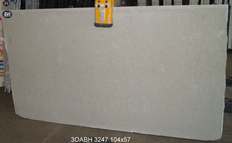 Oasis Blue Honed Limestone Slabs from Spain
