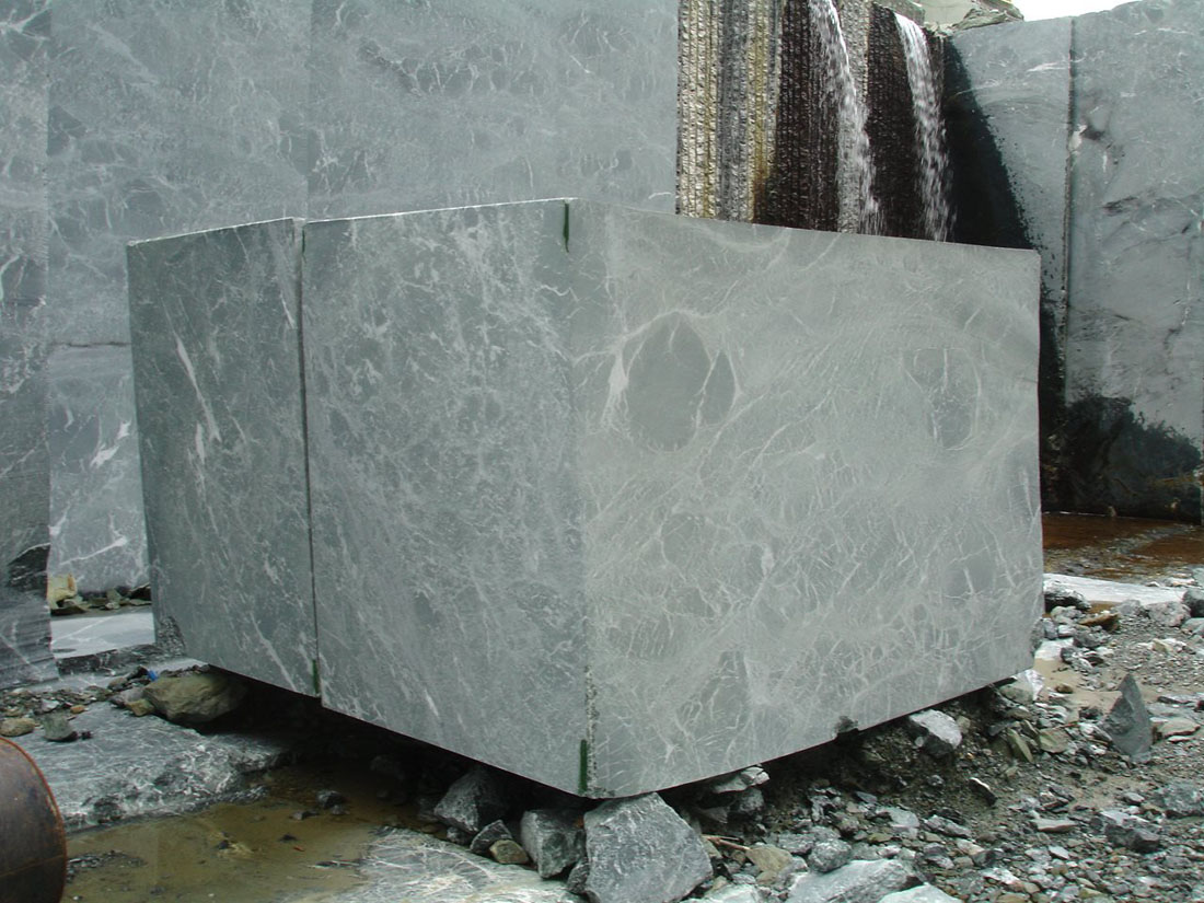 Oasis Green Marble Blocks from Greece
