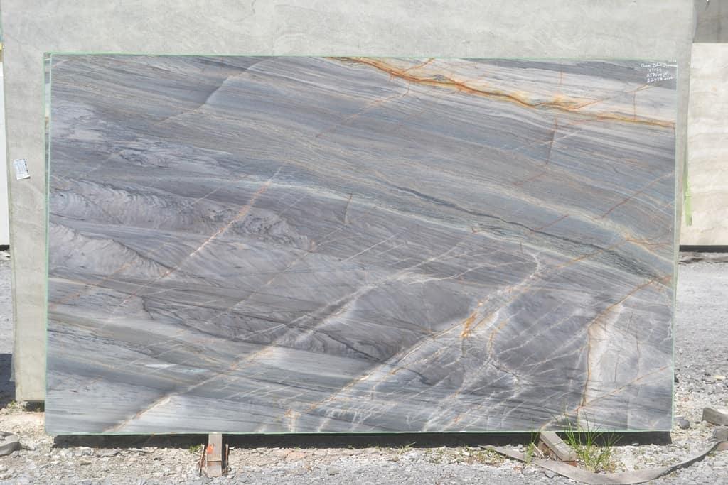 Ocean Blue Quartzite Stone Slabs