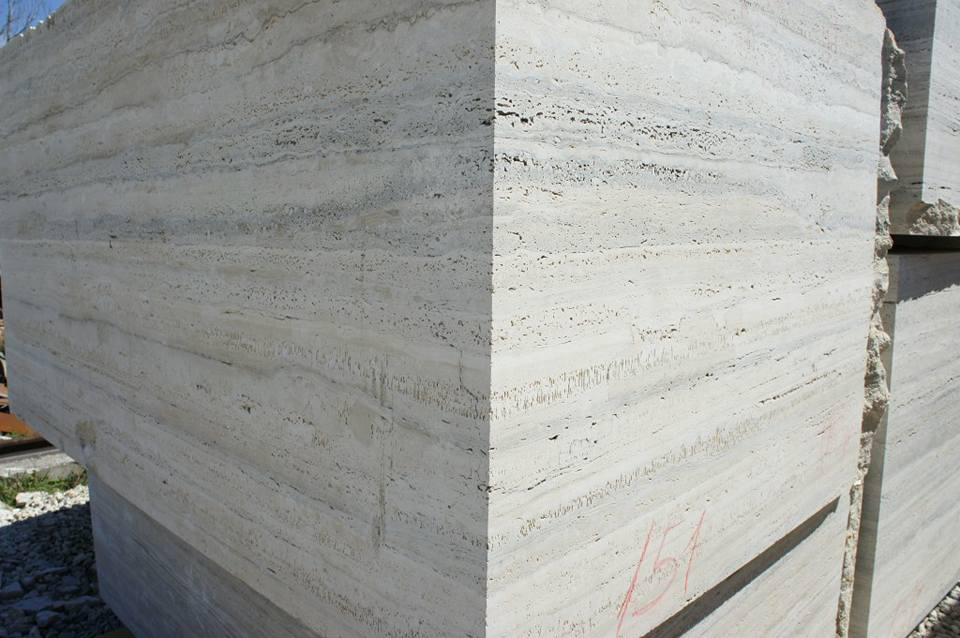 Ocean Blue Travertine Natural Marble Blocks