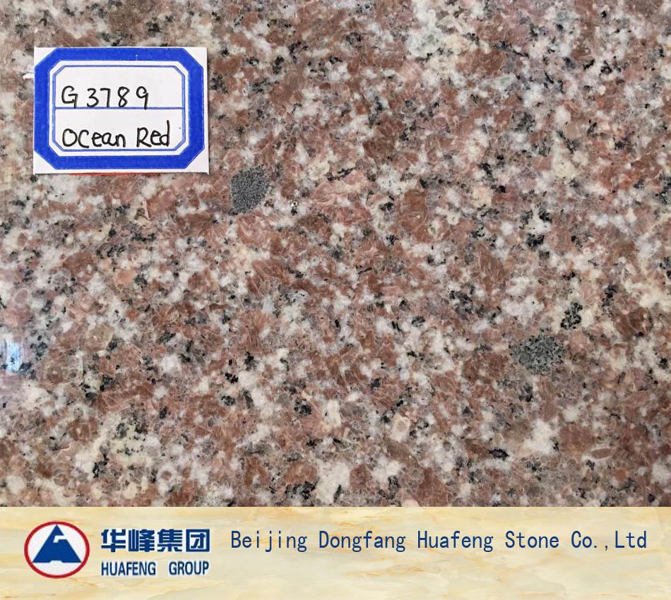 Ocean Red Granite Floor Covering