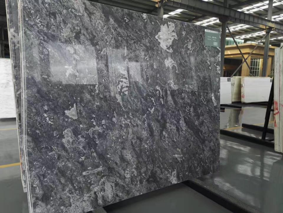 Ocean Start Marble Slabs Grey Marble Slabs from China