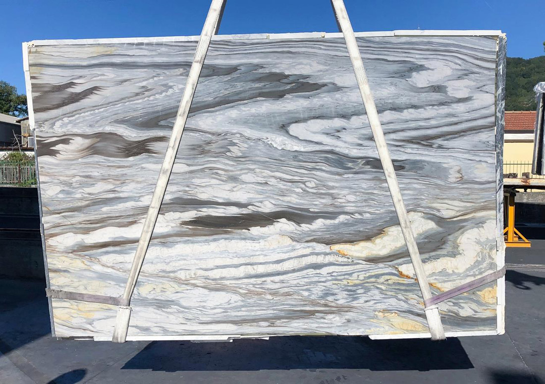 Ocean Sunrise Marble Slabs Polished Marble Slabs