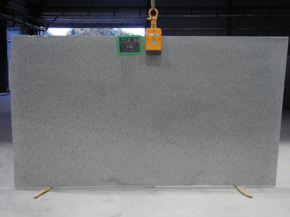 Ocean White Granite Slabs Indian White Granite Slabs