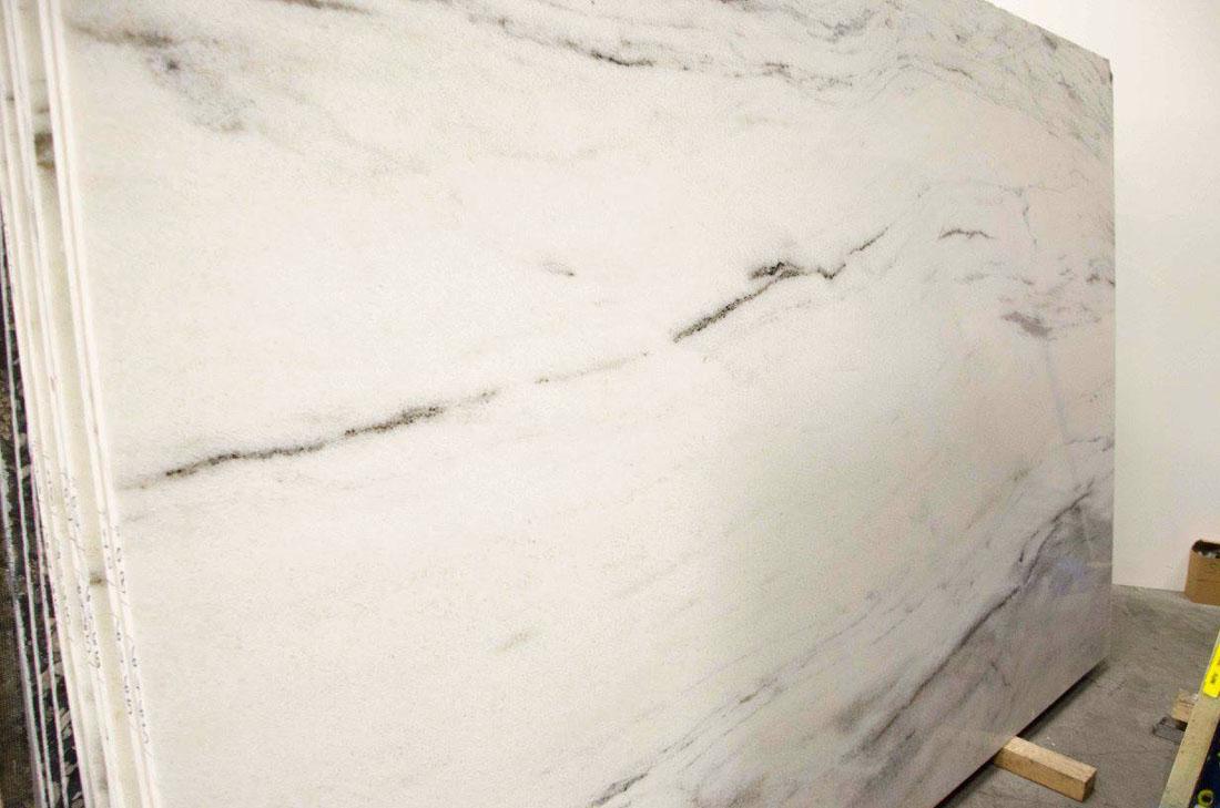 Ocean White Quartzite Polished Slabs