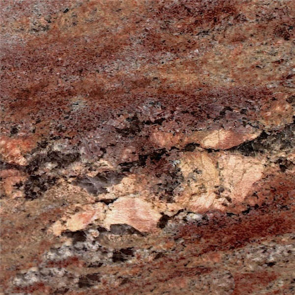 Ocean Bordeaux Granite