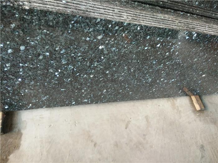 Old Emerald Pearl Granite Polished Green Countertops
