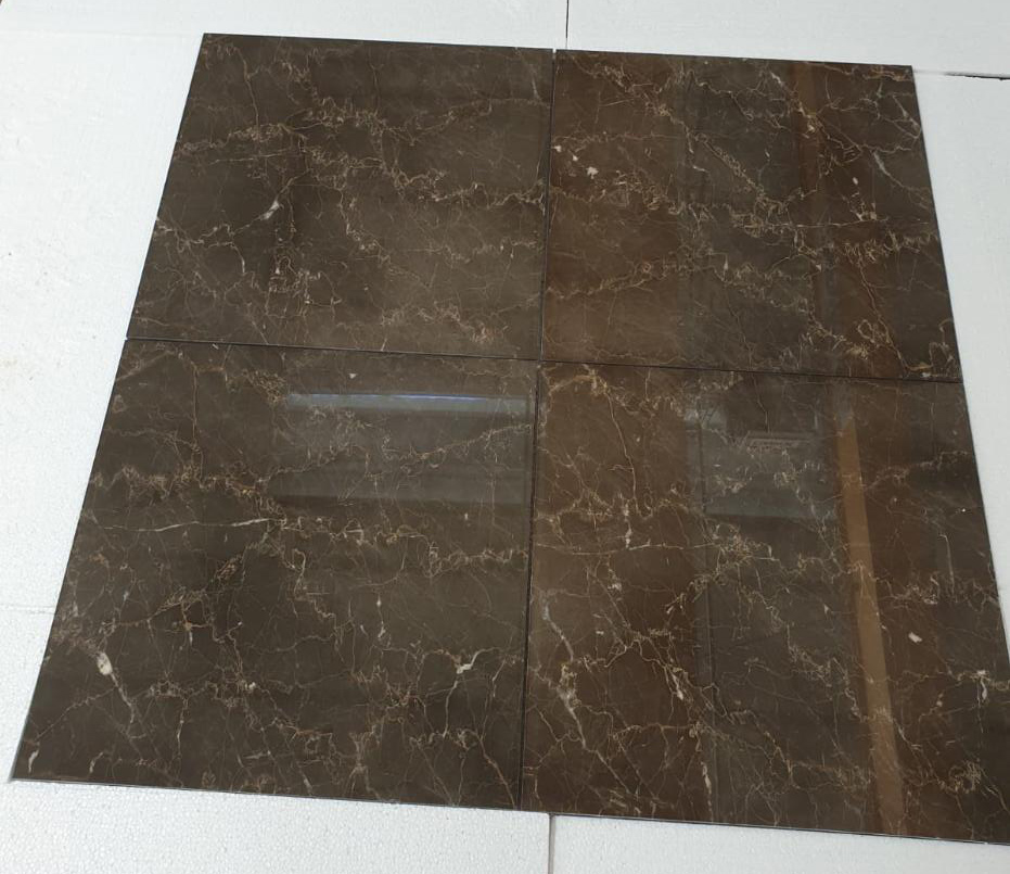 Olive Maron Marble Tiles Polished Brown Marble Flooring Tiles