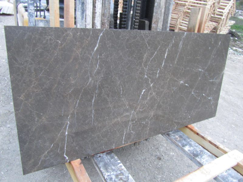 Olive Maroon Grey Marble Slabs Turkish Grey Slabs