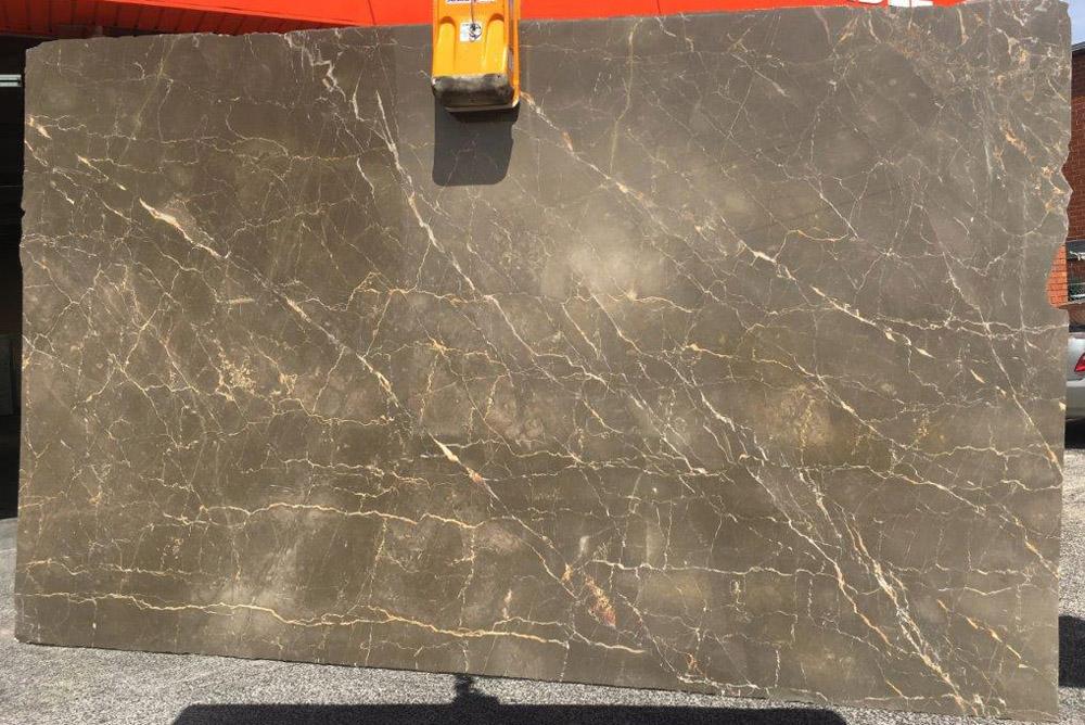 Olive Maroon Marble Slabs Turkish Brown Marble Stone Slabs