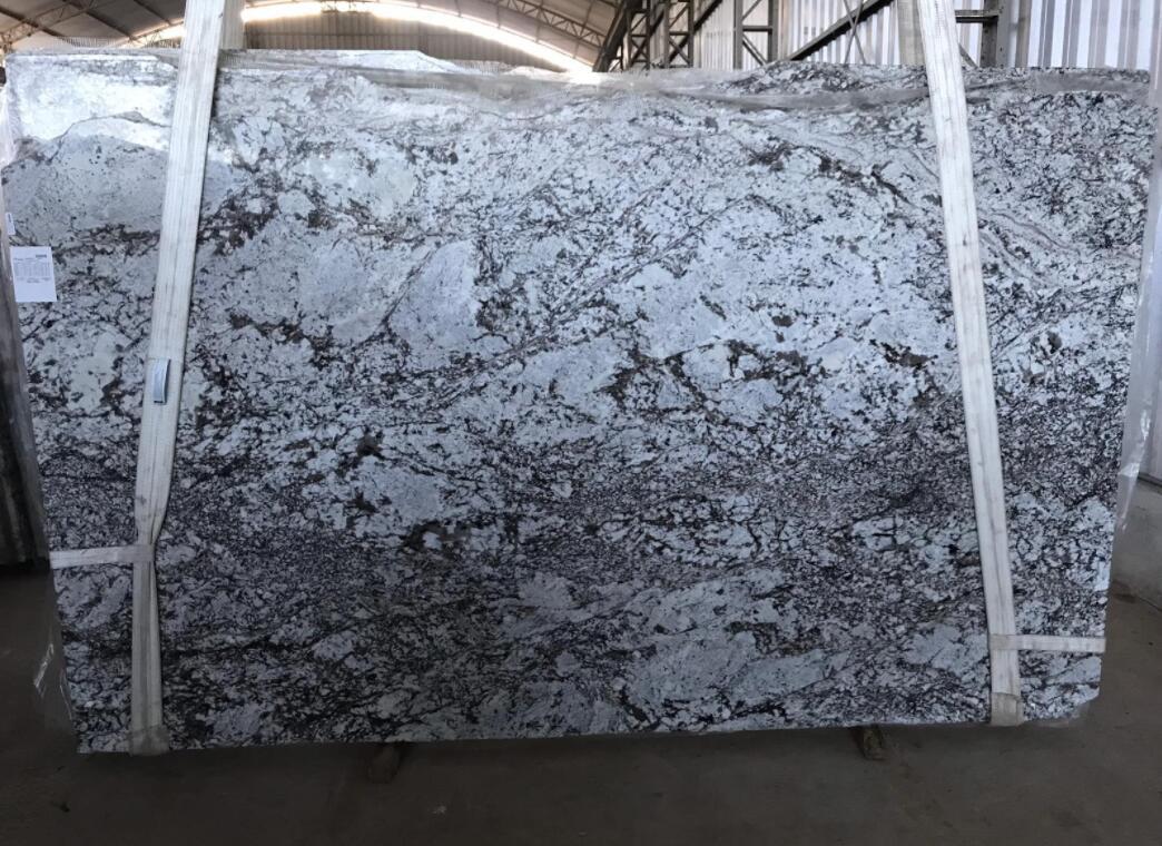 Olympus Grey Granite Slabs Polished Brazil Granite Slabs