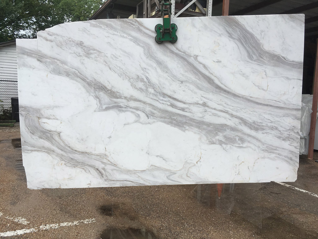 Olympus White Natural Marble Slab Polished White Marble Slabs