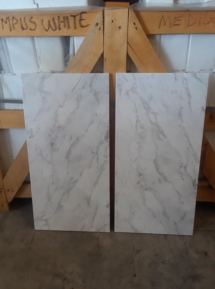 Olympus White Natural Marble Tiles Polished Greek White Marble Tiles