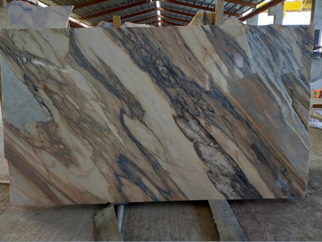 Oman Marble Slabs Polished Beige Marble Stone Slabs