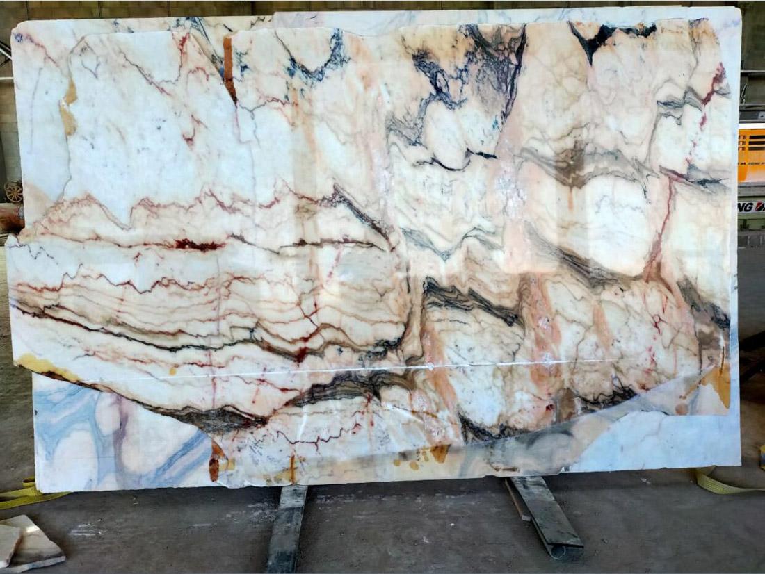 Oman Marble Slabs Premium Polished Marble Stone Slabs