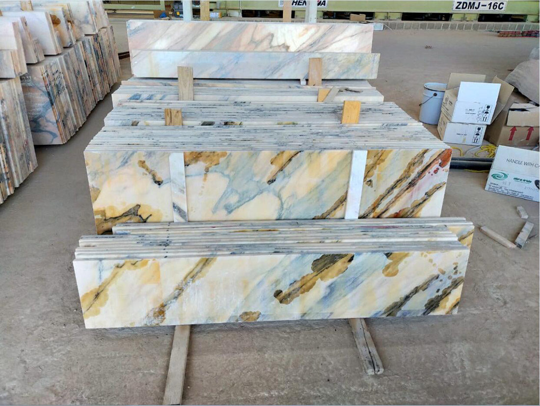 Oman Marble Tiles Polished Marble Stone Flooring Tiles