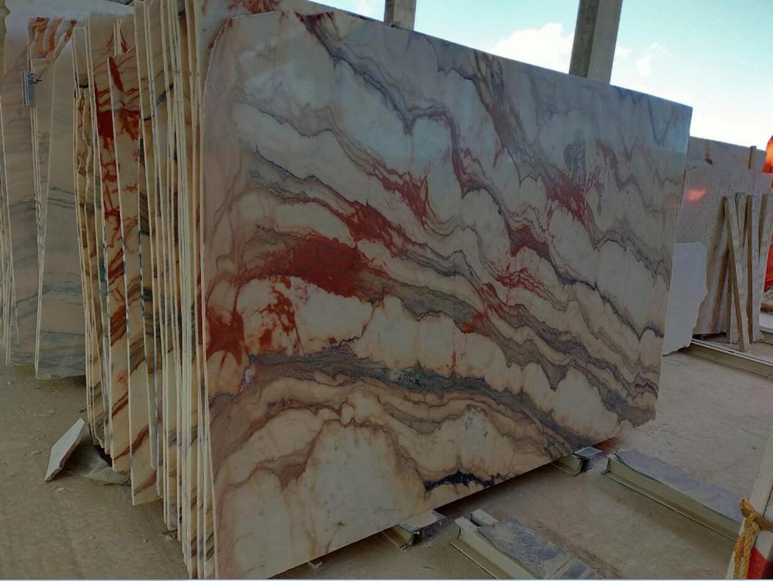 Oman Premium Marble Slabs Polished Marble Stone Slabs