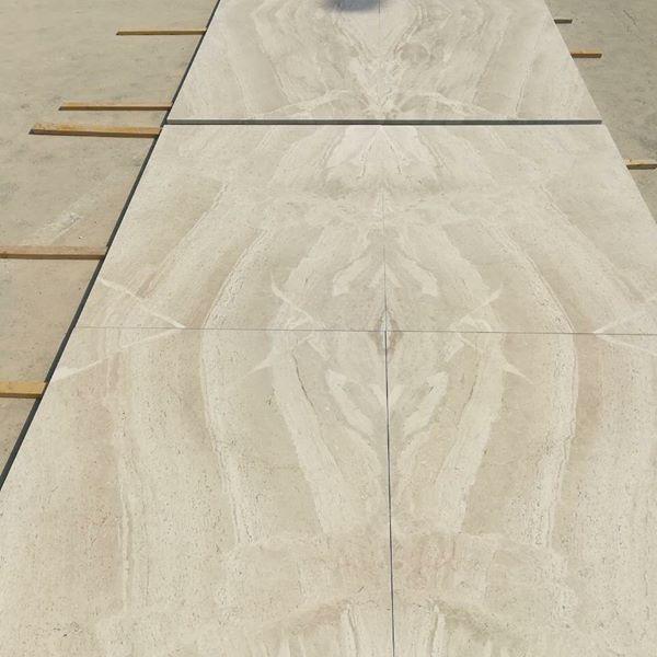 Omani Beige Tiles Polished Marble Tiles for Flooring