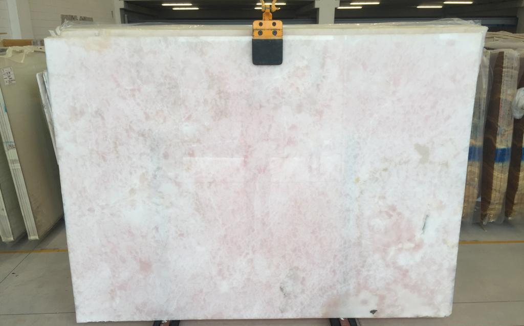 Onice Rosa Pink Slabs Polished Onyx Stone Slabs