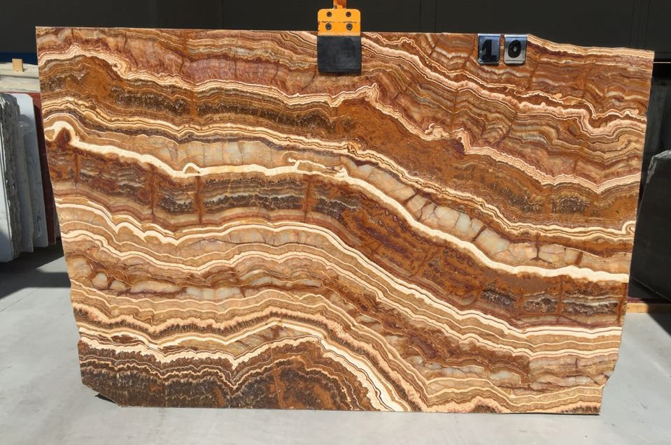 Onice Tyger Red Slabs Affordable Onyx Stone Slabs